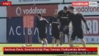 Andreas Beck, Gençlerbirliği Maçı Sonrası Stadyumda İdman Yaptı