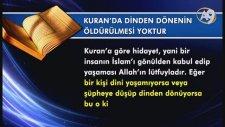 İslam'da Baskı Ve Zorlama Yoktur -1-
