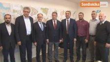 AK Parti İl Başkanı Selim Temurci'den Otobüs Şoförlerine Sürpriz Ziyaret