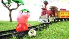 #türkçeizle. Peppa Pig oyuncakları. Peppa Pig tehlikede!