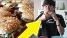 Bir Oturuşta 25 Hamburger Yemek? (Dünya Rekoru)