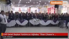 CHP Genel Başkan Yardımcısı Ağbaba;