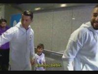 Cristiano Ronaldo ve Benzema'dan Lucas Vázquez'e Bebe Muamelesi