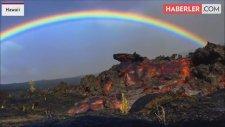 Hawaii'de İki Doğa Olayı Aynı Anda Gerçekleşti