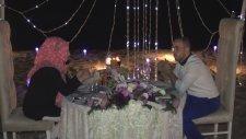 Samsun'da Romantik Bir Gecede Evlilik Teklifi