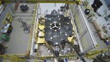 #4- James Webb Uzay Teleskobu'nun Aynaları Yerleştirilirken