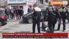Motosikletli Trafik Polisi Kazada Yaralandı