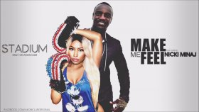 Akon - Make Me Feel (Feat. Nicki Minaj) [Official Audio]