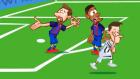Juventus - Barcelona Maçı Animasyon Film Oldu