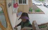 Kapıya Broşür Bırakan Kızın Aklını Alan Köpek