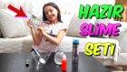 Teyzemin Evinde Hazır Slime Setleri İle İğrenç Ve Güzel Slime Yaptık | Çok Komik Geçti