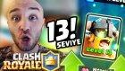 İlk Kez Max Level Kartlarımla Oynuyorum - Clash Royale