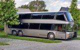Çift Katlı Otobüsün Lüks Bir Karavana Dönüşümü