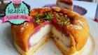 Kedidilli Çilekli İrmik Tatlısı (Pratik ve Gösterişli Hafif Bir Tatlı) Ayşenur Altan Yemek Tarifleri