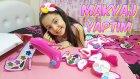 2 Tane En Büyüklerinden Barbie Makyaj Seti Açıyorum ve Makyaj Yapıyorum!
