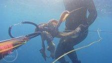 Zıpkınla Ahtapot Avı Ayvalık 2017 - 7 kg Octopus