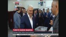 Başbakan Binali Yıldırım Oyunu İzmir'de Kullandı!