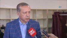 Cumhurbaşkanı Erdoğan Oy Kullandıktan Sonra Açıklama Yaptı