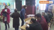 Kilis'te Vatandaşlar Oy Kullandı