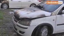 Şanlıurfa'da 5 Araç Kundaklandı