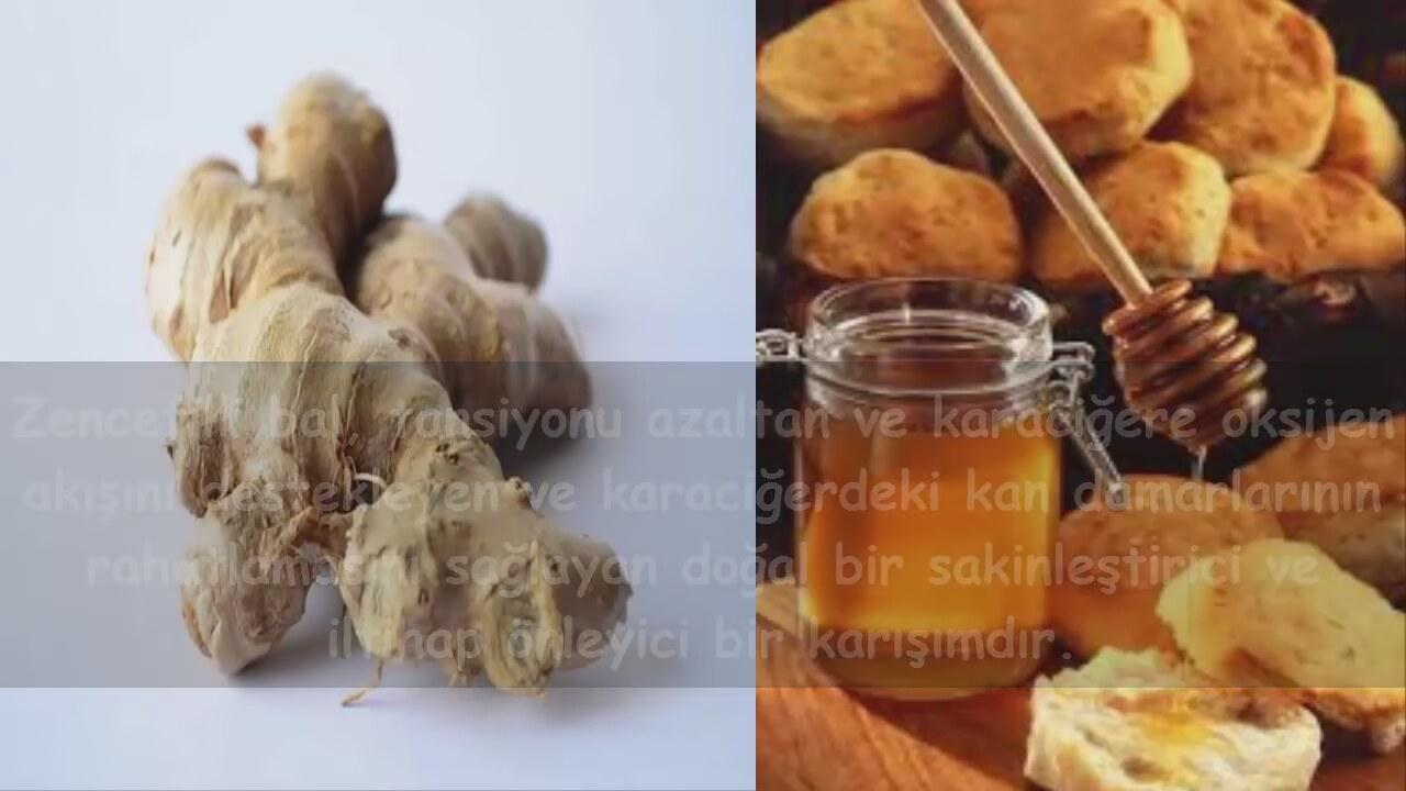 Zencefilli Bal Şurubu