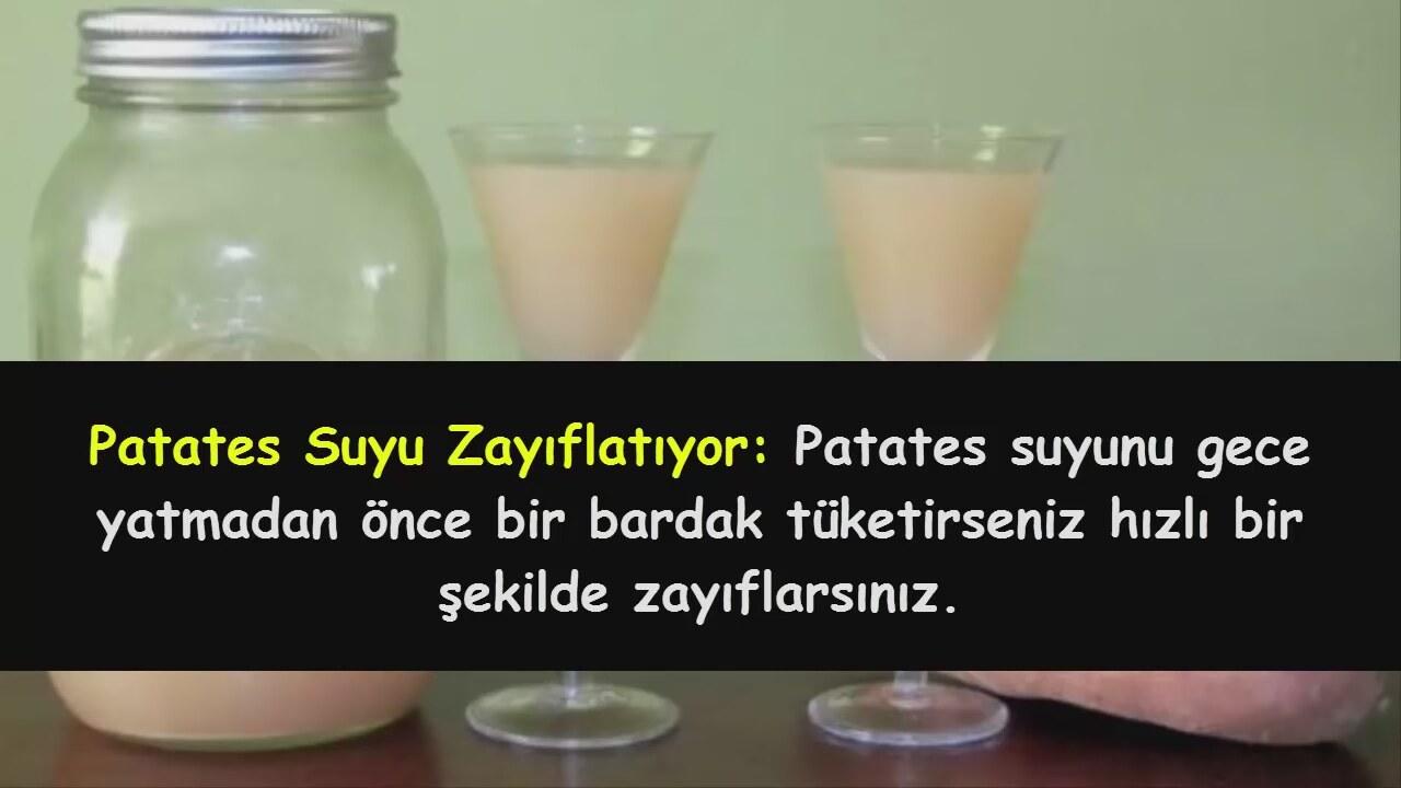 Patates Suyu Zayıflatırmı: Patates Suyu İle Zayıflama