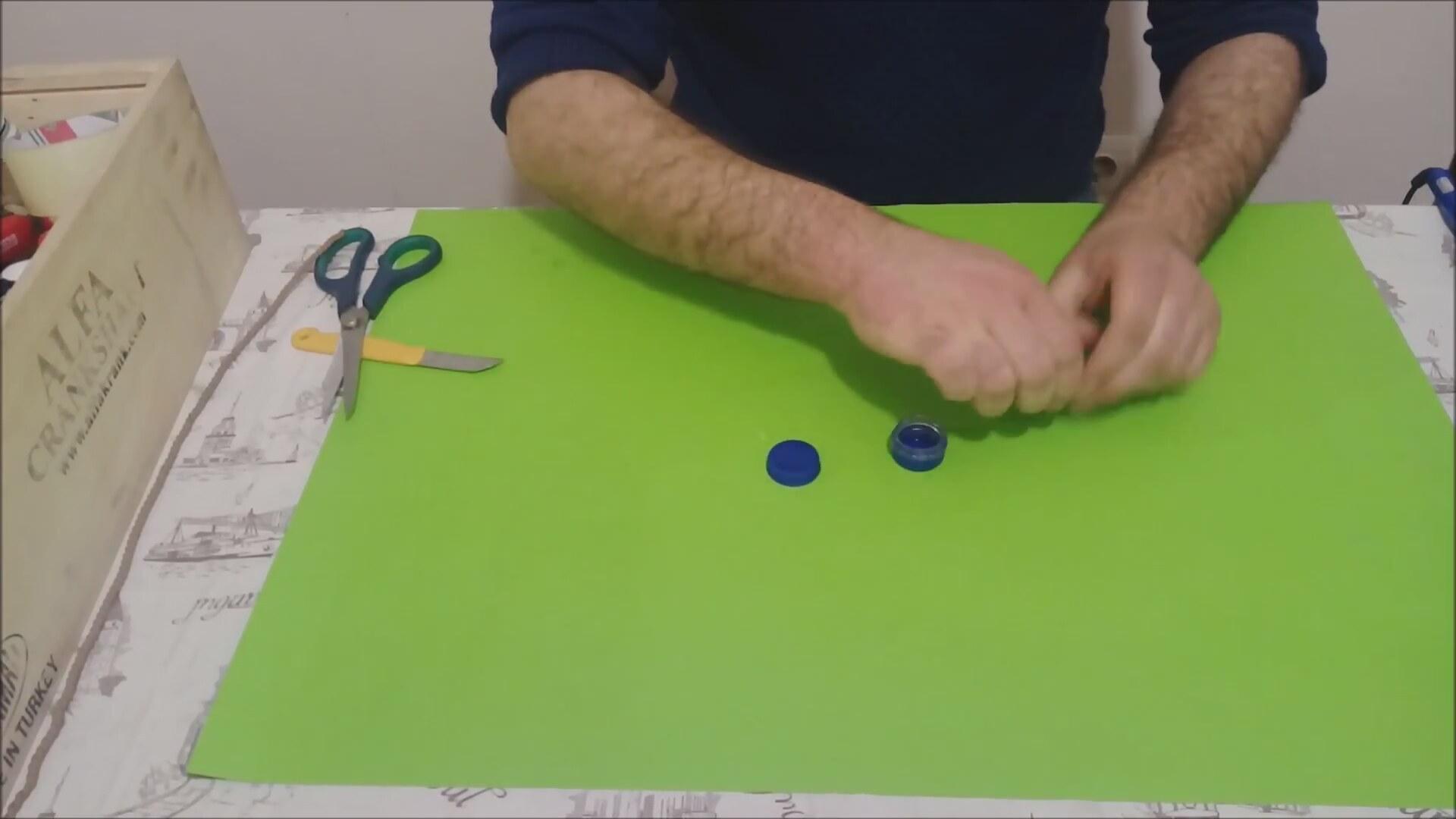 Pet Şişeden Oyuncak Koltuk Yapımı