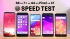 Samsung Galaxy S8, iPhone 7 Plus, Google Pixel ve OnePlus 3T Hız Testinde