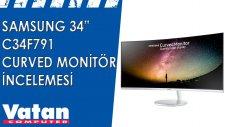 Samsung 34F791 Curved Monitör İncelemesi