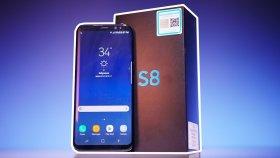 Türkiye'de İlk: 4.000 TL'lik Samsung Galaxy S8 Kutu Açılışı