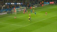 Jamie Vardy'nin Atletico Madrid'e attığı gol