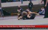 Jiu Jitsu Maçında Rakibinin Kolunu Hiç Acımadan Kıran Sporcu