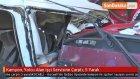 Kamyon, Yolcu Alan İşçi Servisine Çarptı: 5 Yaralı
