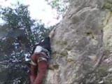 Karateke Kanyonunda Tirmanis