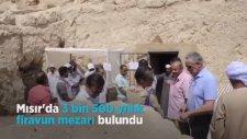 3 Bin 500 yıllık Firavun, Mezardan Böyle Çıkarıldı!
