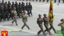 Kuzey Kore Askerlerinin Titreşimli Yürümesi