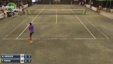 Tenis Maçına Damga Vuran Ses!