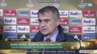 Beşiktaş - Lyon Maç Sonu Şenol Güneş'in Açıklamaları