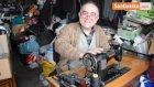50 Yıllık Makinesi ile Yarım Asırdır Terzilik Yapıyor