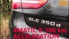Mercedes-Benz Gle 350d 4matıc 0-100 Km Acceleration