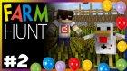 Saklambaaaç - Farm Hunt - Minecraft Mini Oyun - #2