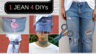 1 Jean 4 DIYs !!!