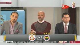 Gs Tv'de Josef De Souza'nın Gol Anı. Spiker: Kötü Şeyler Oldu