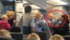 Uçaktaki Görevlinin Bebekli Kadına Pusetle Vurması