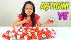 Açtığını Yeme Cezalı Kinder Joy Sürpriz Yumurtası Kızlar vs Erkekler