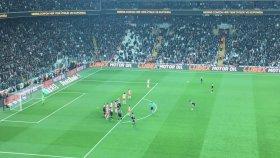 Beşiktaş 3-2 Adanaspor Gol: Dusko Tosic (24 Nisan 2017) Tribün Çekimi