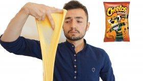 Cheetos Slime Nasıl Yapılır Çıtırdayan Slime Yapımı