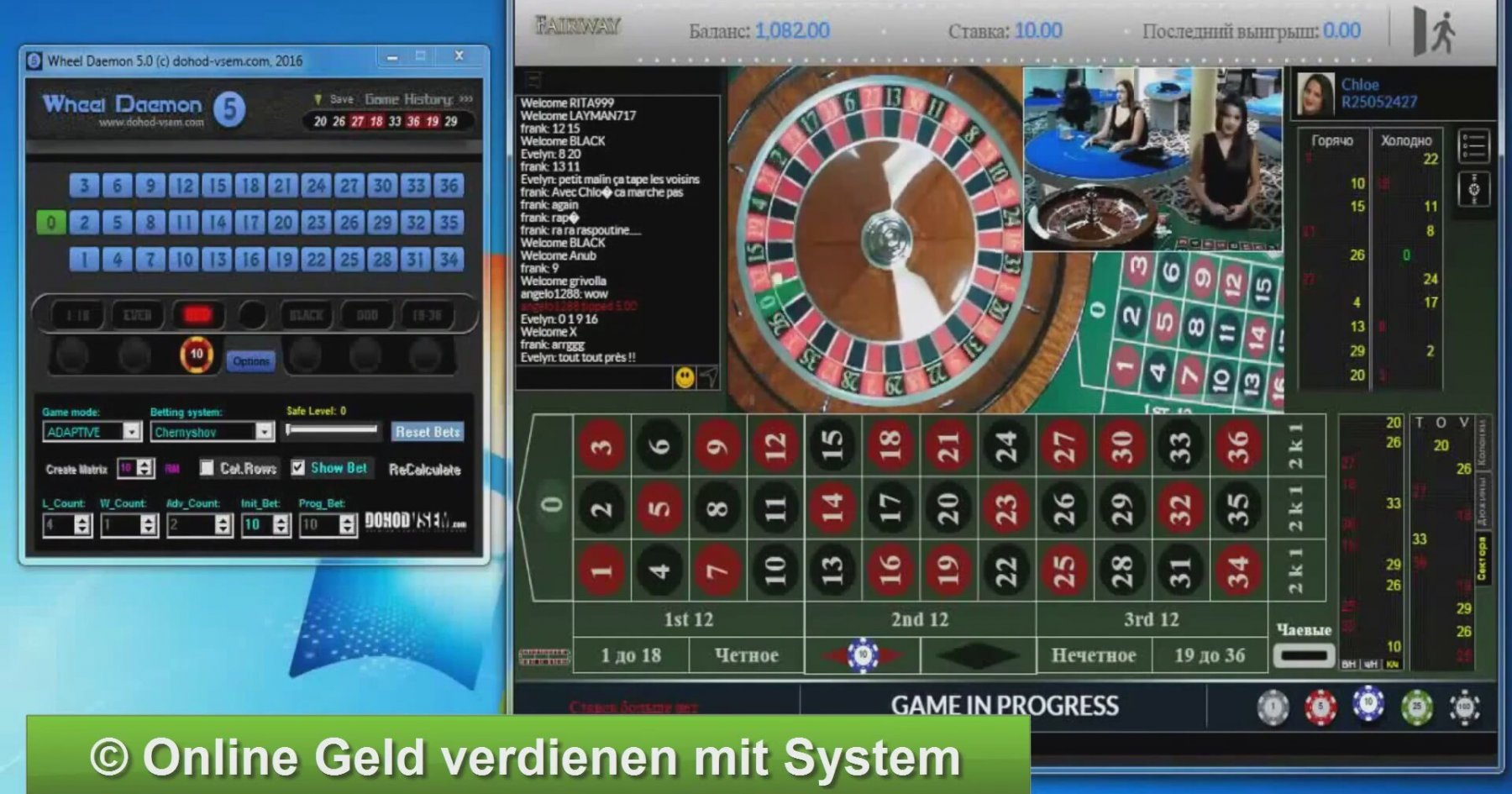 Roulette Trick Verboten