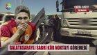 Galatasaraylı Sabri Trafik Kazası Yaptı