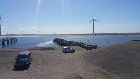 Hollanda'da Deniz Bariyerleri